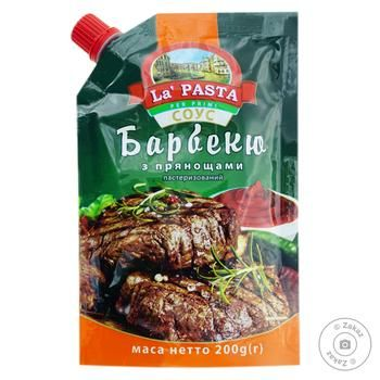 La Pasta BBQ Sauce with Spices 200g