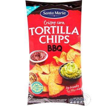 Santa Maria Chips corn Barbecue 185g