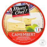 Сыр Мерси Шеф Камамбер мягкий с плесенью 45% 125г