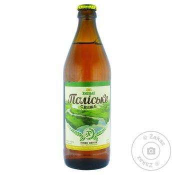 Khmilne Poliske Svizhe Light Beer 4,4% 0,5l