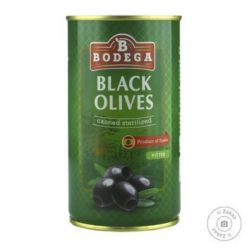 Bodega Pitted Black Olives 350g - buy, prices for Novus - image 1