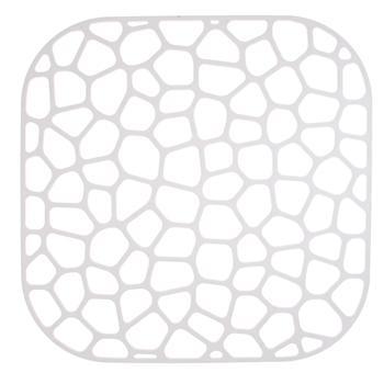 Решетка Idea в раковину квадратная 30х30см