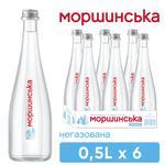 Вода минеральная Моршинская негазированная 0,5л