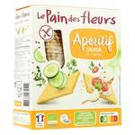 Хлібці Le Pain des Fleurs з цибулею органічні безглютенові 150г