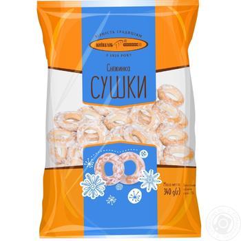 Сушки Киевхлеб Снежинка 400г - купить, цены на Восторг - фото 4