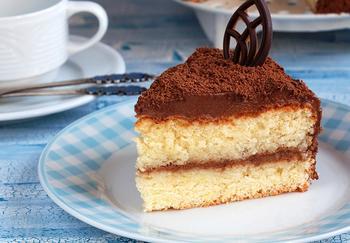 Торт с трюфельным кремом