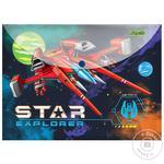 Папка-конверт 1Вересня Star Explorer А4 на кнопці