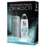 Набір Clean<(>&<)>Cool Syoss та Fa Men Шампунь SYOSS Men Clean<(>&<)>Cool для нормального та жирного волосся 500мл+Гель для душа Fa Men Clean Pulse 250мл