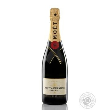 Шампанское Moёt&Chandon Imperial белое брют 12% 0,75л
