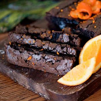 Шоколадно-апельсиновый хлеб