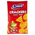Крекер Croco зі смаком шинки 100г