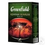 Tea Greenfield Kenyan sunrise black 100g