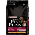 Food Pro plan with rice dry for dogs 3000g