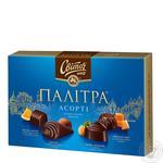 Svitoch Palitra Assorti in black chocolate 200g