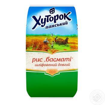 Рис Хуторок Панский Басмати 1кг - купить, цены на Novus - фото 2