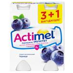 Danone Actimel Bilberry Flavored Fermented Milk Product 1,5% 4pcs*100g