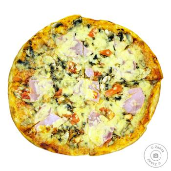 Піца з шинкою та грибами 500г - купити, ціни на Фуршет - фото 1