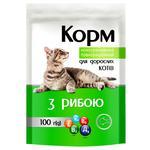 Корм Чистая ВыгоДА! для взрослых кошек с рыбой 100г