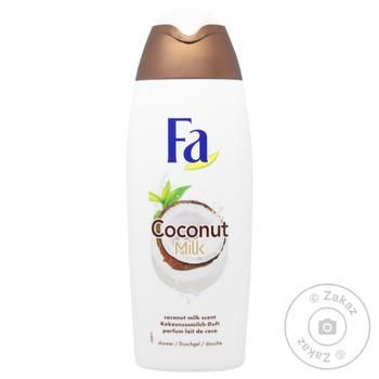 Гель для душу Fa Coconut Milk Аромат Кокосового молочка 500мл