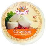 Poliska cheese factory Product milk-containing Suluguni  mini 40%