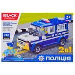Игрушка Iblock Конструктор Полиция PL-920-21