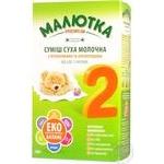 Сухая смесь Малютка Premium №2 от 6 до 12 мес 350г