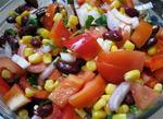 Зимовий овочевий салат