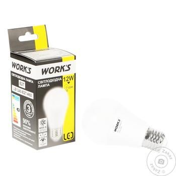 Лампа светодиодная Work's 12W E27