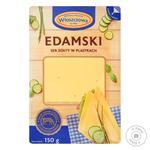 Wloszczowa Edamski Cheese slicing 45% 150g