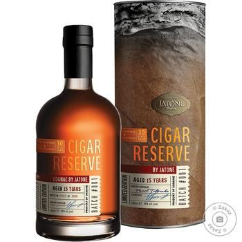 Коньяк Таврия Jatone Cigar Reserve X.O. 30лет 40% 0.7л