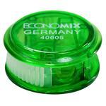 Чинка пластик Economix з контейн. кругла асорті E40605