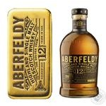 Whiskey Aberfeldy 40% 700ml glass bottle