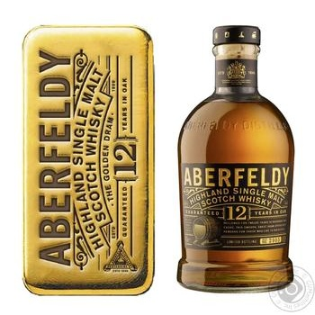 Whiskey Aberfeldy 40% 700ml glass bottle