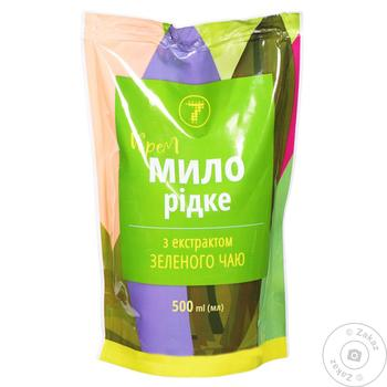 Крем-мыло жидкое Семерка с экстрактом зеленого чая 500мл