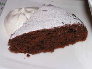 Шведський шоколадний пиріг