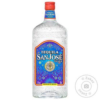San Jose Silver tequila 35% 1l