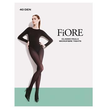 Fiore Paula 40 den Gray Tights for Women 3 size