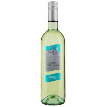 Вино Terra Fresca Бянка полусладкое белое 10% 0,75л