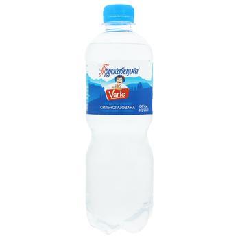 Вода Varto минеральная сильногазированная столовая 0,5л