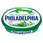 Сир Philadelphia з зеленню 67% 175г