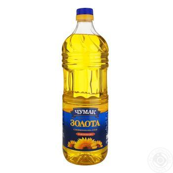 Масло Чумак Золотое подсолнечное рафинированное 2л - купить, цены на Ашан - фото 2