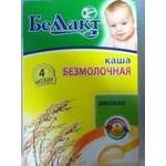 Baby dairy-free porridge Bellakt Rice for 4+ months babies 250g Belarus