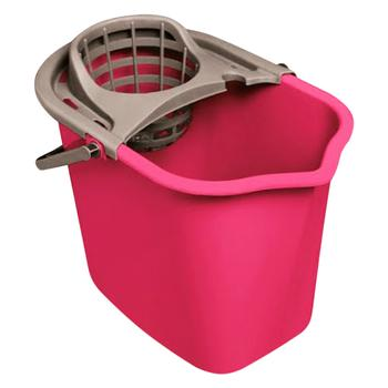 York Bucket With Squeeze 10L