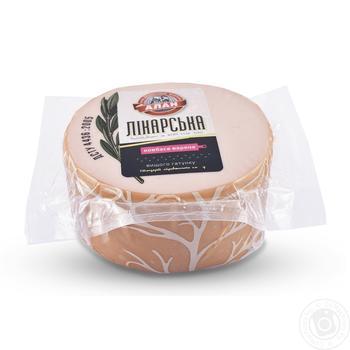 Колбаса Алан Докторская вареная высшего сорта - купить, цены на Ашан - фото 1