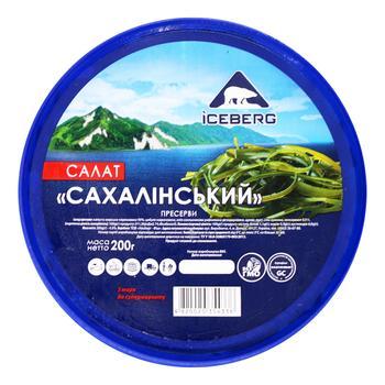 Капуста морская Iceberg по-сахалінськи 200г