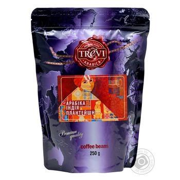 Кофе Trevi в зернах арабика Индия плантейшн 250г - купить, цены на Novus - фото 1