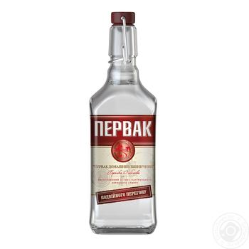 Pervak ​​Homemade wheat double filtration special vodka 40% 0,5l - buy, prices for Novus - image 1
