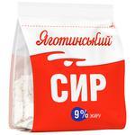 Yahotynsky Sour Milk Cheese 9% 350g