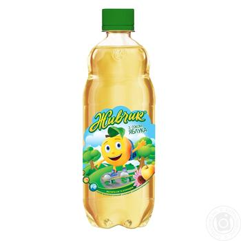 Zhivchik carbonated with apple juice drink 0.5l - buy, prices for Novus - image 1