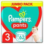 Подгузники-трусики Pampers Pants размер 3 Midi 6-11кг 60шт